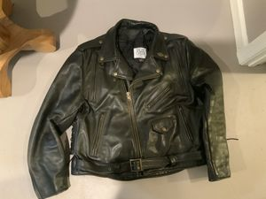 Classic Motorcycle jacket Fox Creek Leather for Sale in Martinsburg, WV