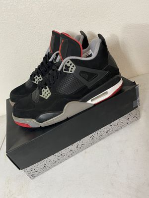 JORDAN BRED 4s for Sale in Palmdale, CA