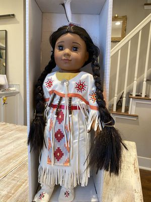 American girl doll Kaya with dance outfit for Sale in Dallas, TX