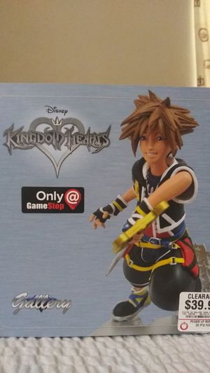 Kingdom hearts statute for Sale in Carrollton, TX