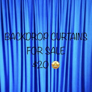 🤍💙BACKDROP CURTAINS FOR SALE 💙🤍 for Sale in Ontario, CA