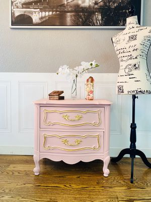 Gorgeous french style nightstand/dresser/ side table- Brand New for Sale in Denver, CO