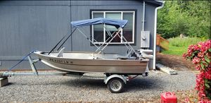aluminum boat for Sale in Estacada, OR