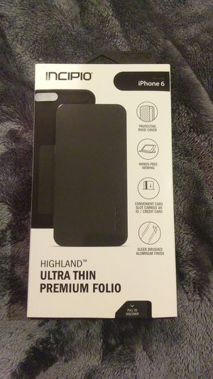 Incipio highland iphone 6 case for Sale in Gassaway, WV