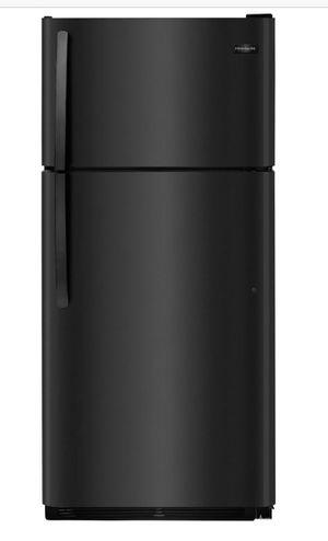 Frigidaire 18 cu. ft. Top Freezer Refrigerator in Black for Sale in Los Angeles, CA