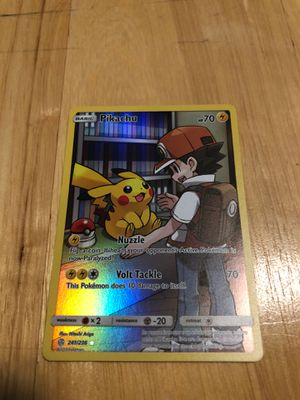 Pikachu Ultra Secret Rare Pokèmon Card 241/236 for Sale in Midlothian, VA