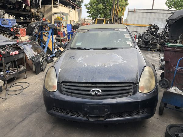 2005 INFINITI G35x AWD PARTING OUT