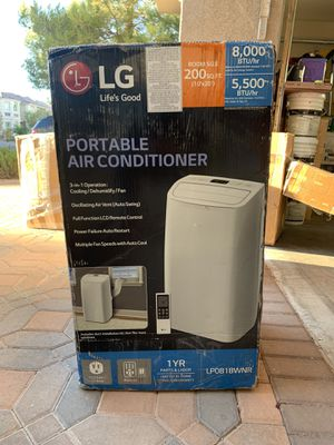 LG life's good 3 in 1 portable air conditioner for Sale in Las Vegas, NV