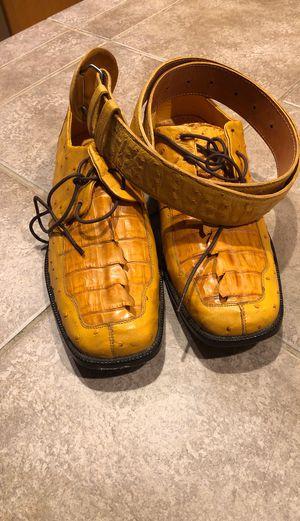 Zapatos de avestruz y cocodrilo for Sale in Everett, WA