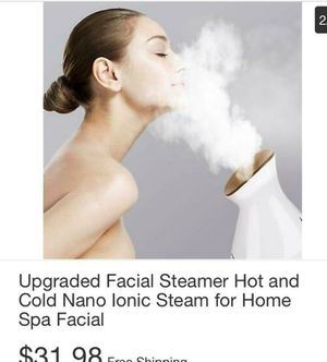 Upgraded Facial Steamer Hot & Cold Nano Lonic Steam for Home SPA Facial for Sale in South Gate, CA
