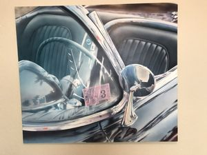 """Unique Acrylic Painting Titled """"State Inspection Sticker"""" for Sale in Sunrise, FL"""