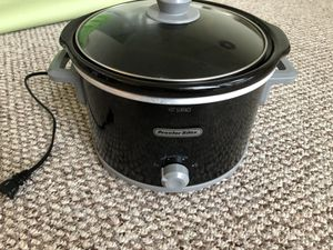 Proctor silex slow cooker 4 qt, works great. for Sale in Washington, DC