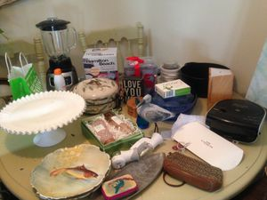 MOVING SALE* *ONLY QUALITY, antiques, coach, what iron, Carhart, gown, iPhone, blender, rod iron, nautical, shower curtains, wicker, SAT 6/9 1:00-3:00 for Sale in Virginia Beach, VA