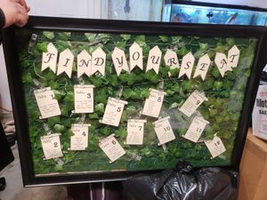 Seating chart. Wedding's items for Sale in Chantilly, VA