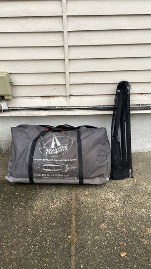 Advanced Elements Inflatable Kayak with Accessories for Sale in Portland, OR