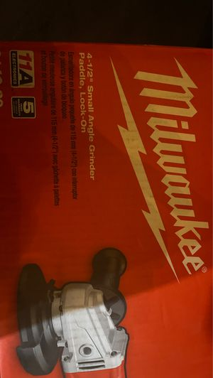 Milwaukee angle grinder for Sale in Bothell, WA