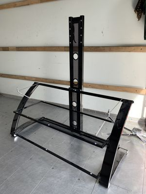 Walmart Tv Stand (black) for Sale in Rancho Cucamonga, CA
