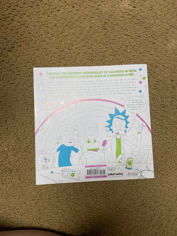 Rick & Morty Official Coloring Book