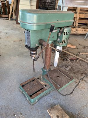Antique Functional Drill Press for Sale in Harlem, GA