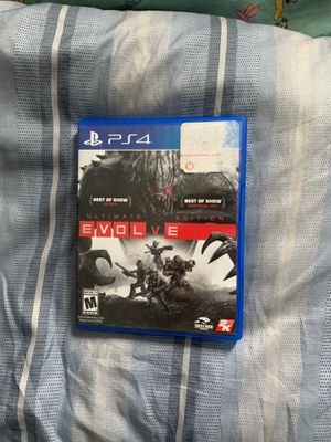 Evolve PS4 Game for Sale in Orono, ME