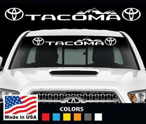 Toyota Tacoma windshield decal sticker for Sale in Pompano Beach, FL