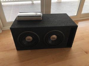 CUSTOM BUILT - JBL GTO1014D 10-Inch Subwoofer + Sedona Amp + Wires - $355 for Sale in Cleveland, OH