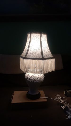 Very cute little lamp with shade for Sale in Spanaway, WA
