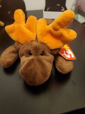 1993 chocolate the moose beanie baby for Sale in Hanover Park, IL