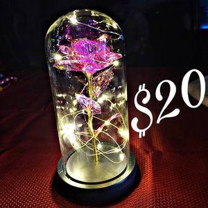 Rose In Glass Dome for Sale in San Jose, CA