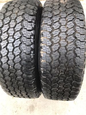 2 tires Good Year LT 245/70/17 for Sale in Montgomery, IL
