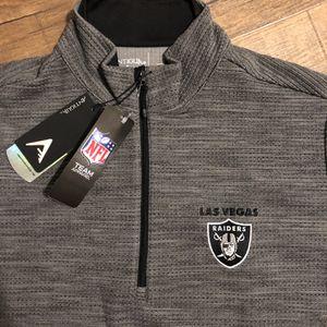 Las Vegas Raiders 1/4 Zip Pullover for Sale in Cerritos, CA