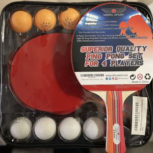 Ping pong paddle - 4pcs for Sale in Garden Grove, CA
