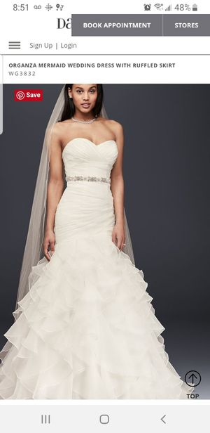 Mermaid Wedding Dress for Sale in Raleigh, NC