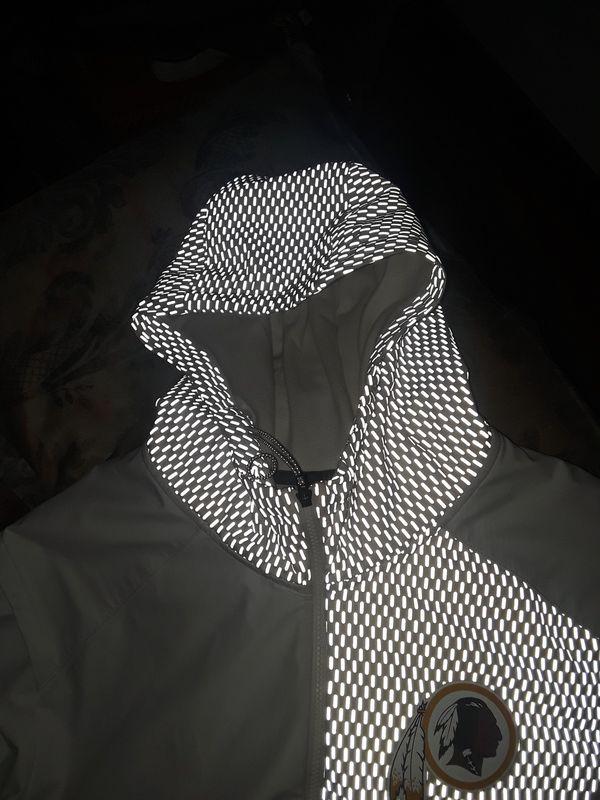 XXL White REDSKINS hoodie
