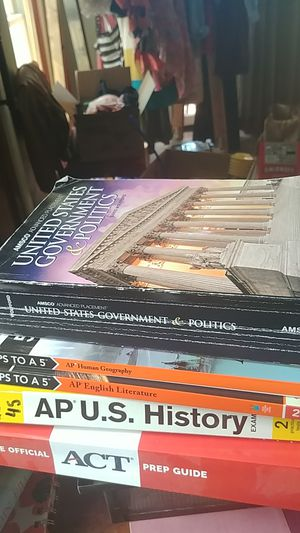 Princeton review and Barons prep books for Sale in Tampa, FL