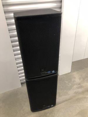 Electro voice elx115 passive speakers 15inch 2way for Sale in Phoenix, AZ