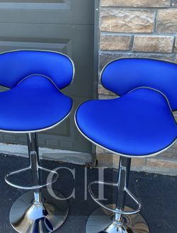 Brand New! $60 Each 2 Blue Bar Stools for Sale in Orlando,  FL