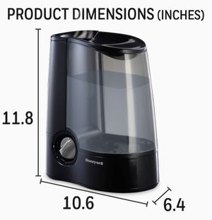 Honeywell HWM705B Filter Free Warm Moisture Humidifier Black Ultra Quiet Filter Free with High & Low Settings, 1-Gallon Tank for Sale in Brooklyn, NY