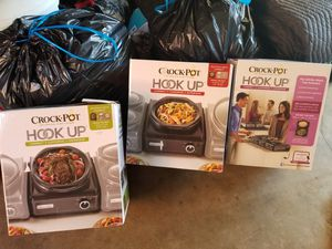 Crock pot warming trays for Sale in Fountain Valley, CA