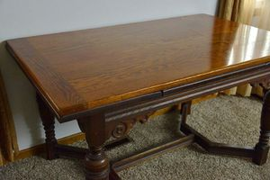 1800s pub table with built in leaves for Sale in Groveport, OH