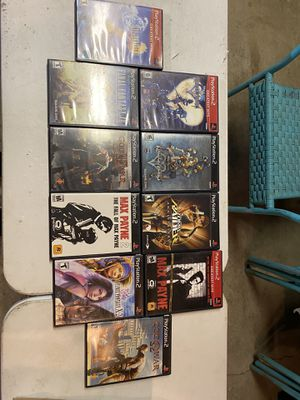 Play station 2 game lot for Sale in Beaverton, OR