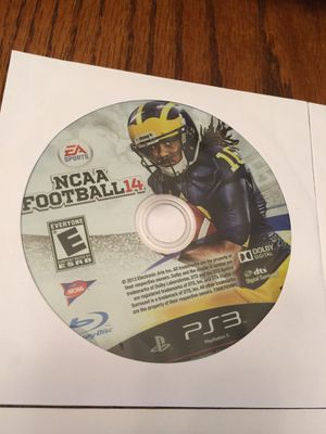 Ncaa football 2014!! Last of the NCAA football game ever! for Sale in Crestview, FL