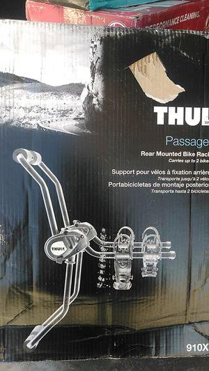 Thule passage 2 rear mounted bike rack new in box for Sale in Henderson, NV