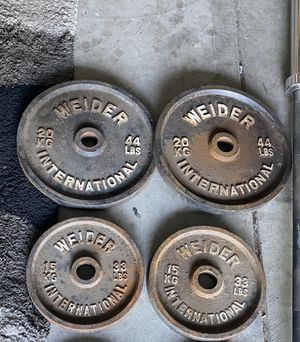 Weight, barbell, Olympic iron, for Sale in Lathrop, CA