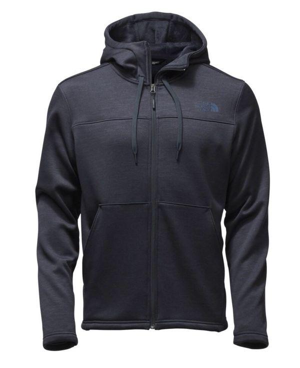 The North Face Schenley Fleece Hoodie Men's Size 2XL XXL Navy Blue