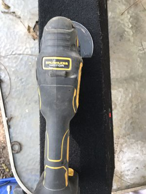Dewalt brushless motor oscillating saw no batterie or charger like new for Sale in Russellville, MO