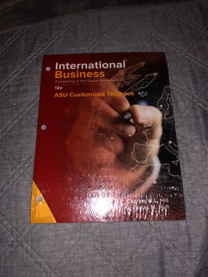 International Business Competing in the Global Marketplace for Sale in Gilbert, AZ