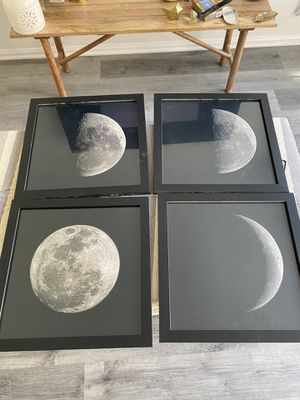 4 Black picture frames for Sale in Los Angeles, CA