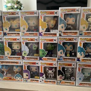 Dragon Ball Z Exclusive Pops for Sale in Anaheim, CA