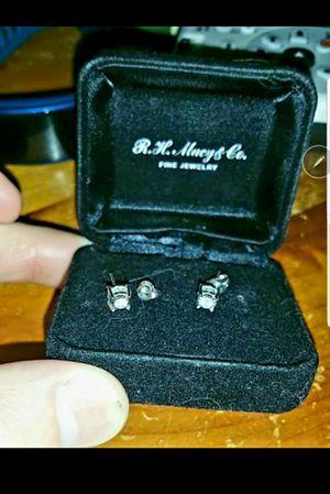 3/4 Carat Stud Diamonds/White Gold Earrings!! for Sale in Gilbert, AZ
